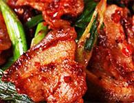 生爆盐煎肉怎么做?简单制作生爆盐煎肉