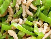青椒炒肉丝怎么做?家常青椒炒肉丝的做法