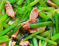 怎么做芹菜炒肉丝?芹菜炒肉丝的做法