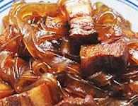 简单易做的东北炖菜,猪肉炖粉条的简单做法