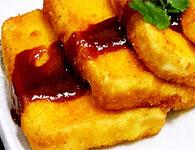 酸甜可口茄汁豆腐,简单制作茄汁豆腐