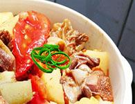 番茄土豆炖牛腩的日常做法