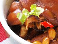 黄豆炖猪蹄的家常做法