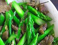 怎么做芦笋炒牛肉?芦笋炒牛肉的简单做法