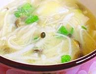 豆腐三菌汤怎么做?家常豆腐三菌汤的做法
