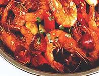干锅基围虾怎么做?家常干锅基围虾的做法