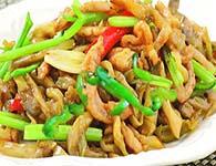 怎么做榨菜炒香干?榨菜炒香干的家常做法