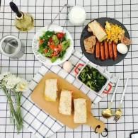 食疗养生:排毒养颜必备佳品 八款西式早餐食谱