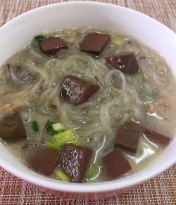【苏菜】南京名吃---鸭血粉丝汤