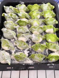 白菜饺子,过年一定要吃,百财饺子啊