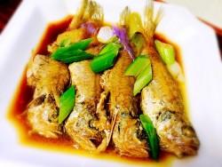 嫩嫩的红烧小黄鱼的做法
