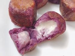 软糯香甜南瓜紫薯饼