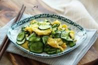 黄瓜炒鸡蛋的做法_美食方法