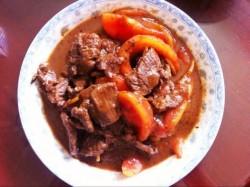 番茄牛肉菠菜汤