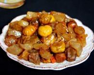 红烧板栗牛筋|软化酥糯的做法