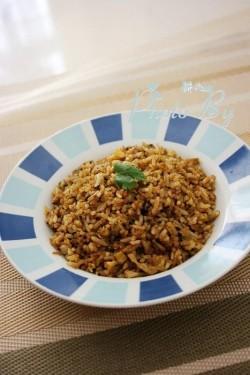 黄金咖喱蛋炒饭怎么做好吃 黄金咖喱蛋炒饭的做法,步骤