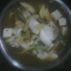 北菇烩素菜