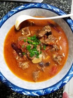 西红柿牛肉午餐