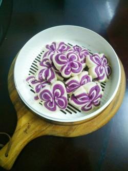 紫薯花卷馒头怎么做好吃 紫薯花卷馒头