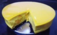 芒果冻芝士蛋糕怎么做好吃 芒果冻芝士蛋糕