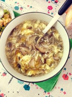 减肥菜谱-豆苗蘑菇汤