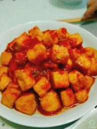 白灵菇烧番茄豆腐的做法