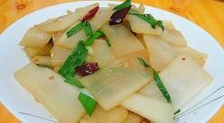 蛤蜊肉炒白萝卜丝怎么做好吃