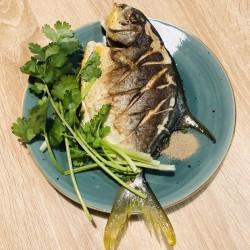 香煎金鲳鱼的做法