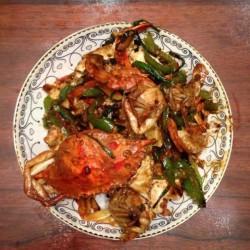 2020咖喱炒螃蟹怎么做好吃 咖喱炒螃蟹的做法,步骤