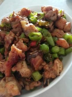 青椒炒鸡肉---简单又好吃的家常菜