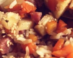 土豆香肠焖饭怎么做好吃 土豆香肠焖饭