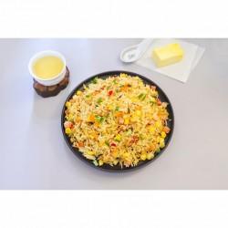 素菜黄油炒饭