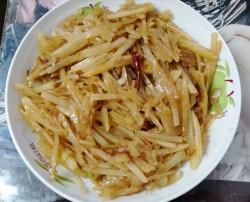 肉炒土豆丝
