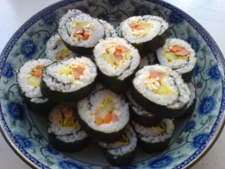 有家鲜厨房:韩国料理-紫菜包饭