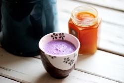 紫薯牛奶西米露的做法