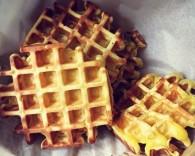 蜜豆酸奶华夫饼的做法