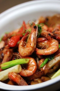 黑胡椒香辣虾