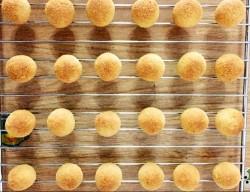 山药蜜豆椰蓉球秋天怎么吃的做法