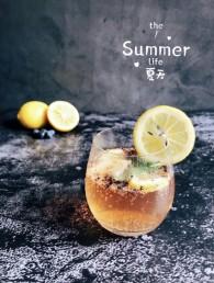夏日冰品不能少薄荷柠檬香草味苏打水的做法