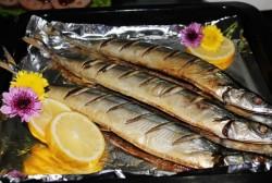 盐烤秋刀鱼美的烤箱菜谱的做法