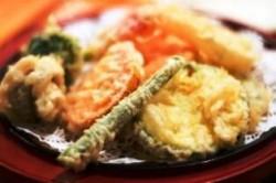 日本料理鲜香清脆什锦天妇罗