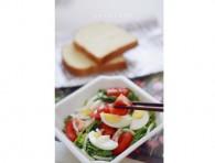 【鸡蛋蔬菜沙拉怎么做好吃】鸡蛋蔬菜沙拉的做法,配方