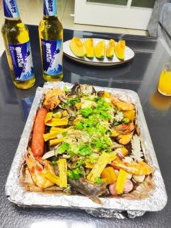 法式番茄柠檬烤鱼-懒人菜谱(1)