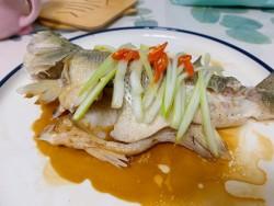 年年有鱼(余)——清蒸鲈鱼