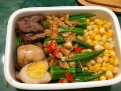 减脂午餐:牛排篇