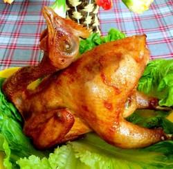 春节家宴喜庆硬菜系列二------[西式香烤全鸡]
