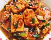 家常煎豆腐的做法