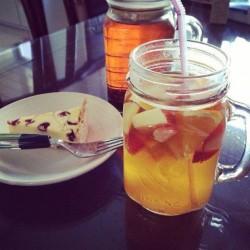 简单几步就能喝到热带水果茶【百香果绿茶】