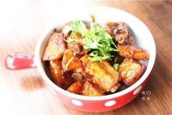 排骨炖土豆--如何做出嫩而不柴的排骨