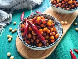 野山菌酱黄豆